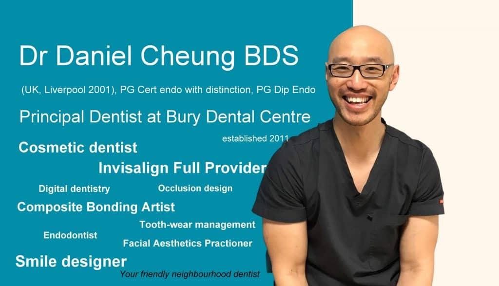 Dr Daniel Cheung BDS dentist in Bury Bury Dentist