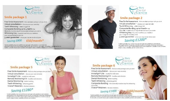 Composite Bonding Smile Packages